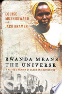 Rwanda Means the Universe Washington When She Learns That Most Of Her