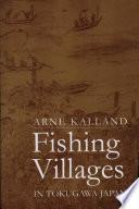 Fishing Villages in Tokugawa, Japan