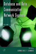 Database and Data Communication Network Systems, Three-Volume Set