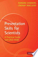 Presentation Skills for Scientists with DVD ROM