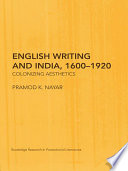 English Writing and India  1600   1920
