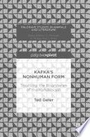 Kafka   s Nonhuman Form