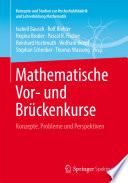 Mathematische Vor Und Br Ckenkurse