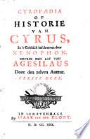 Cyrop Dia Of Historie Van Cyrus