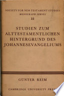 Society for new testament studies. Monograph series,22