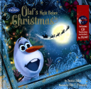 Frozen Olaf s Night Before Christmas Book   CD