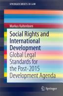Social Rights and International Development