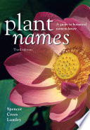 Plant Names Use Of Plant Names And The