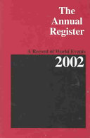 The Annual Register 2002