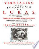 Verklaring van het euangelium van Lukas