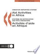 Aid Activities in Africa 2001