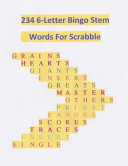 234 6 Letter Bingo Stem Words