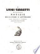 Notizie biografiche e letterarie in continuazione della Biblioteca modonese del cavalier abate Girolamo Tiraboschi