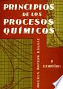 Principios de los procesos qu  micos