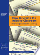 How to Create the Inclusive Classroom
