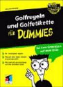 Golfregeln und Golfetikette f  r Dummies