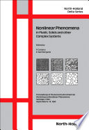 Nonlinear Phenomena in Fluids  Solids and other Complex Systems