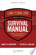 Law Firm Survival Manual