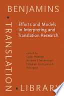 Ebook Efforts and Models in Interpreting and Translation Research Epub Gyde Hansen,Andrew Chesterman,Heidrun Gerzymisch-Arbogast Apps Read Mobile