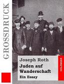 Juden Auf Wanderschaft Grossdruck
