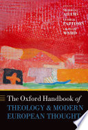 Ebook The Oxford Handbook of Theology and Modern European Thought Epub Nicholas Adams,George Pattison,Graham Ward Apps Read Mobile