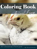 Farm Animal 30 Pictures  Sketch Grey Scale Coloring Book for Kids Adults and Grown Ups