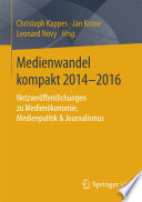 Medienwandel kompakt 2014–2016