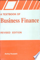 A Textbook of Business Finance