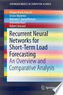 Recurrent Neural Networks For Short-Term Load Forecasting : in a supply network is an accurate...