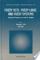 Fuzzy Sets Fuzzy Logic And Fuzzy Systems