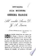 Intorno alla moderna commedia francese  Leonardo Antonio Forleo