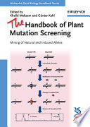 The Handbook Of Plant Mutation Screening