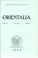 download ebook orientalia vol.34 pdf epub