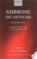 De Officiis Introduction Text And Translation