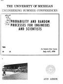 Probability and Random Processes for Engineers and Scientists