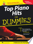 Top Piano Hits for Dummies Songbook