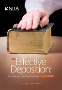The Effective Deposition: Techniques and Strategies That Work, Fourth Edition