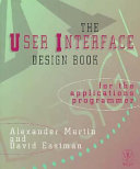 The user interface design book for the applications programmer