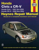 Honda Civic Crv V Automotive Repair Manual