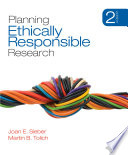 Planning Ethically Responsible Research