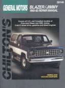 Chevrolet Blazer And Jimmy 1969 82