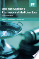 Dale and Appelbe s Pharmacy and Medicines Law