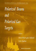 download ebook polarized beams and polarized gas targets: proceedings of the international workshop pdf epub