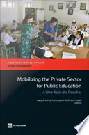 Mobilizing the Private Sector for Public Education