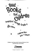 Book Best Books for Children, Preschool Through Grade 6