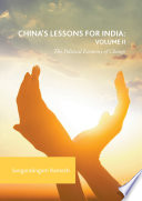 China s Lessons for India  Volume II