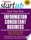 Start Your Own Information Consultant Business