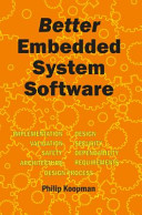 Better Embedded System Software