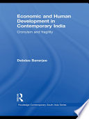 Economic and Human Development in Contemporary India