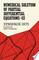 Numerical Solution of Partial Differential Equations   III  SYNSPADE 1975